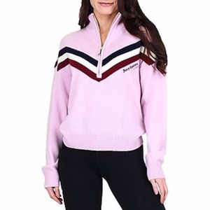 Juicy Couture Cashmere Health Zip Pullover